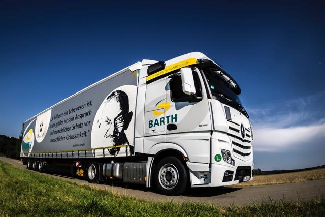 BARTH startet mit 5 neuen LKWs in 2017