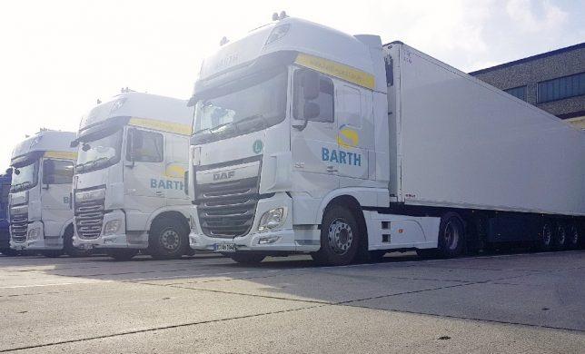 BARTH fährt Kühltransporte!